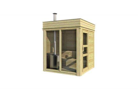 7x7 Viking Garden Sauna