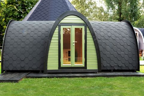 19x8 Camping pod