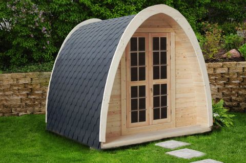 8x8 Camping Pod from Shed Factory Ireland