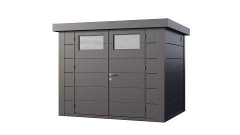 9x7 Telluria Eleganto 2721 Steel Shed (Antracite Finish)