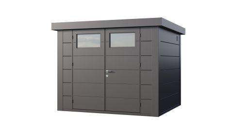 9x8 Telluria Eleganto 2721 Steel Shed (Antracite Finish)