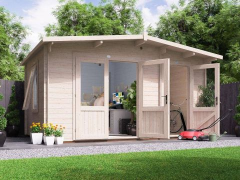 EvilJeff Multi Room Log Cabin