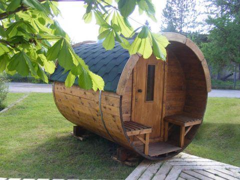 10x7 Viking Sauna Barrel