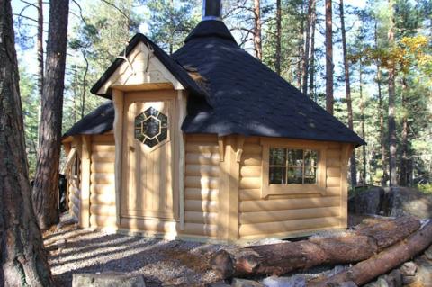 Viking 14.9m2 BBQ Hut
