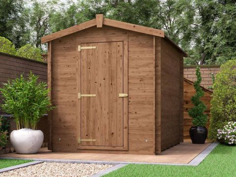 8x6 Taarmo Heavy Duty Shed