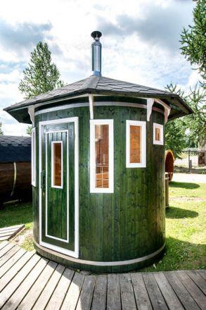 8x6 Viking Vertical Sauna Barrel