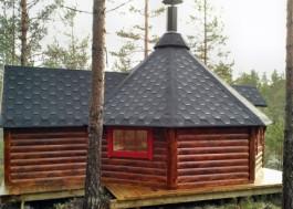 Viking 15-25 man BBQ Hut Extended