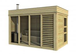 7x14 Viking Garden Sauna