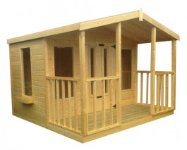 Tongue & Groove Summer house with Veranda