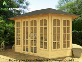 Valentine Oval Summerhouse