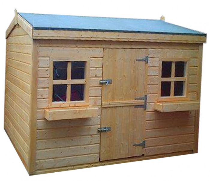 Shed Factory 8x8 Country Cottage Kids Playhouse
