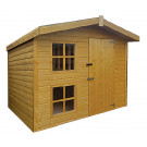 Hideaway Loft Kids Playhouse