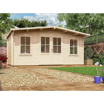 16x10 PremiumPlus Severn Log Cabin (28mm)