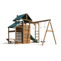 15x13 ManorFort Stronghold Climbing Frame