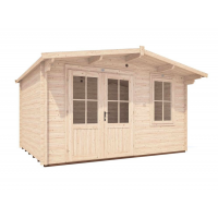Rhine Log Cabin outer