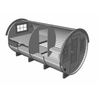 Sleeping Barrel Render