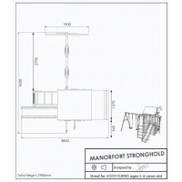 Manorfort Climbing Frame dimensions