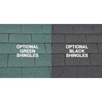 Optional Green/Black Shingles