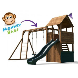 FortPlus Escape Climbing Frame bars