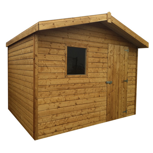 10x8 Chalet Tongue & Groove Shed