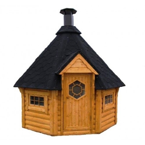 10x10 Viking BBQ hut
