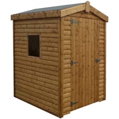 10x10 Logwood Shed