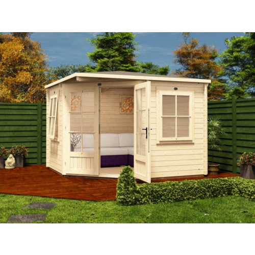 10x10 PremiumPlus Coronet Log Cabin (45mm)