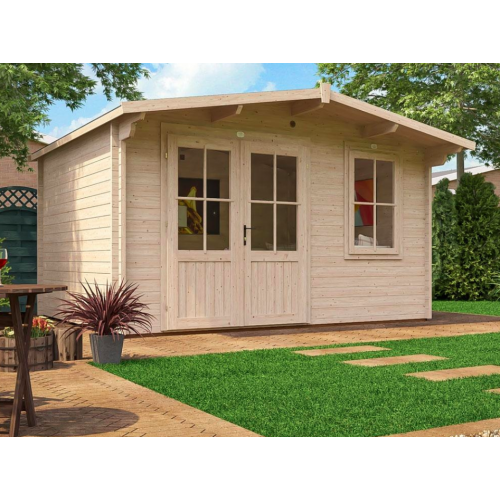 13x10 Rhine Log Cabin (45mm)