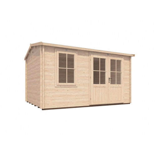 13x10 PremiumPlus Beegorra Log Cabin (45mm)