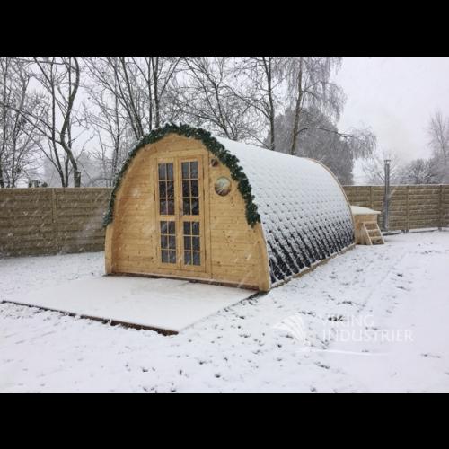 19x8 Garden Camping Pod