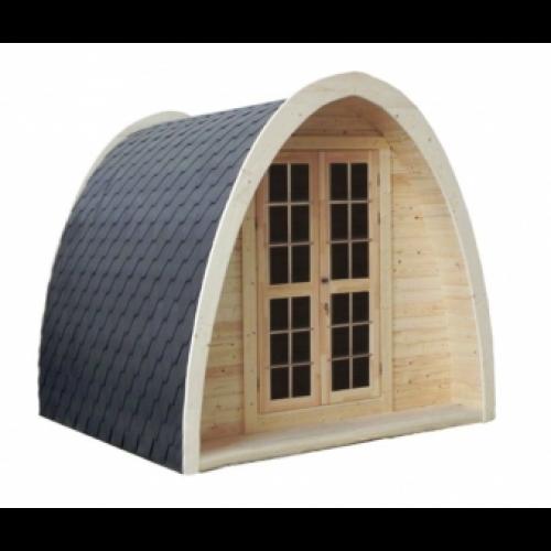 10x8 Garden Camping Pod Thermo