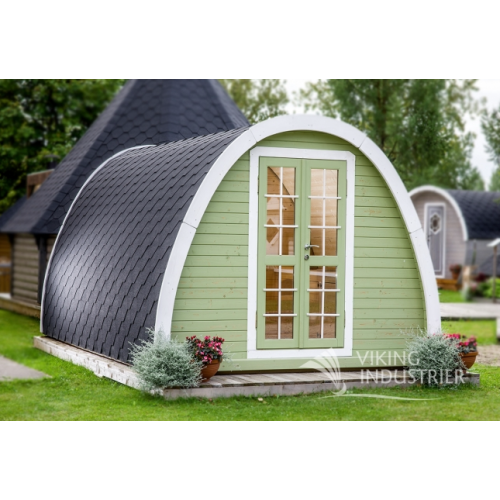 16x10 Garden Camping Pod Insulated