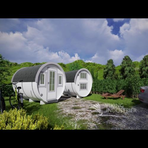 11x7 Garden Sleeping Barrel