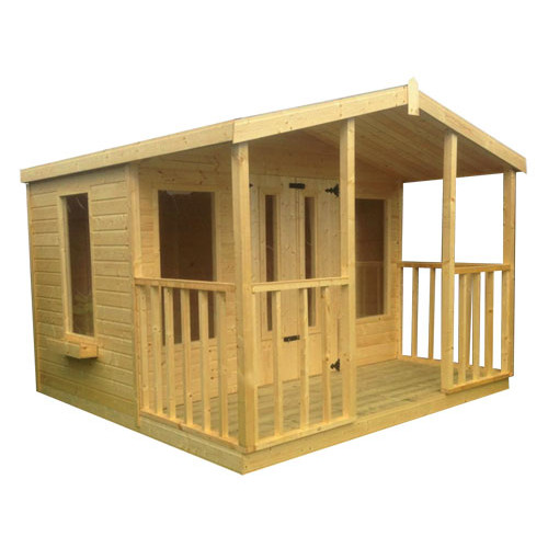 14x10 Tongue & Groove Summerhouse with Veranda