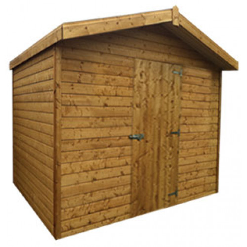 8x6 19mm Chalet Tongue & Groove Shed