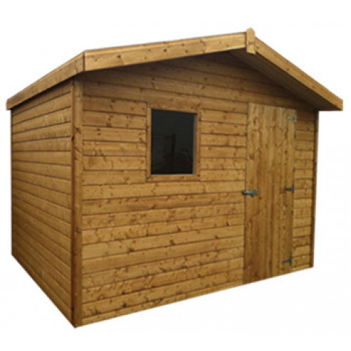 8x8 19mm Chalet Tongue & Groove Shed