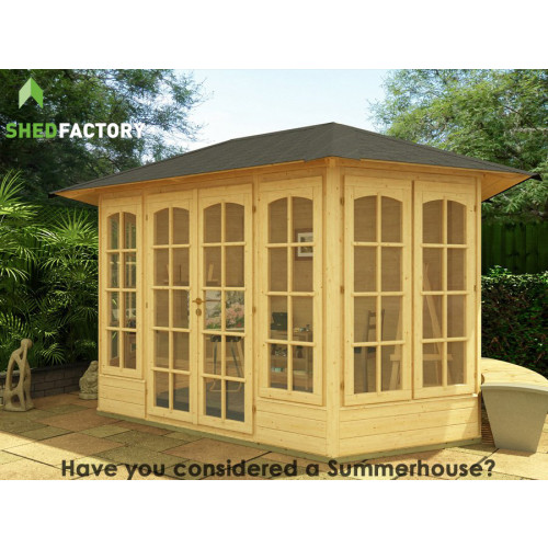 12x6 Tongue & Groove Georgian Summerhouse