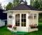 11x11 Glazed Garden Pavilion