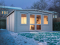Severn Insulated Log Cabin winter