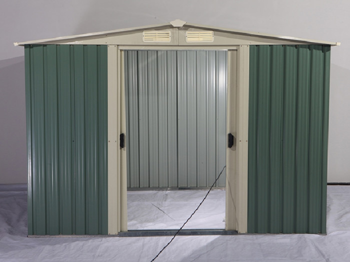Shed Factory - 12x10 Metal Storage Shed Galvanised Steel Shed
