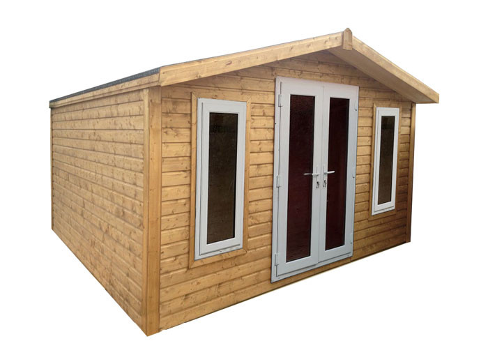Shed Factory 10x8 Apex Garden Office