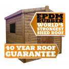 19mm Tongue & Groove Shed