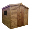 12x6 Tongue & Groove Shed