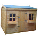 6ft x 6ft Country Cottage Kids Playhouse