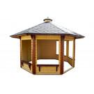 11x11 Garden Pavilion Gazebo