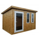 Prestige insulated garden room with electrics