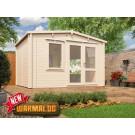 12x10 Rhine Insulated Log Cabin
