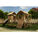 23x16 Megafort Mountain Climbing Frame