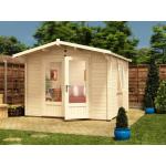 8x8 PremiumPlus Avon Log Cabin