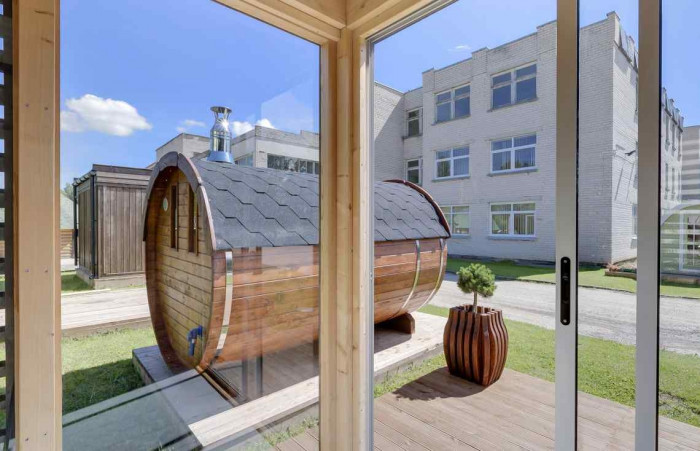 Shed Factory Outdoor Garden Sauna From Shed Factory Ireland